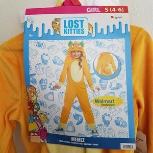 NEW Memez Lost Kitties Girls Halloween Costume SM